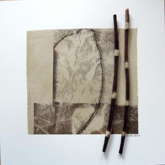 30x30 Holzobjektrahmen weiß